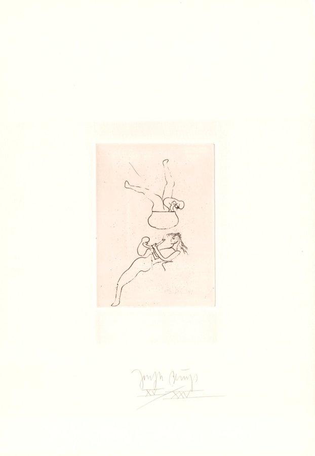 Joseph Beuys Zirkulationszeit: Topfspiel Print