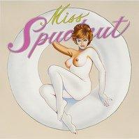 Mel Ramos Miss Spudnut Serigrafie Grafik