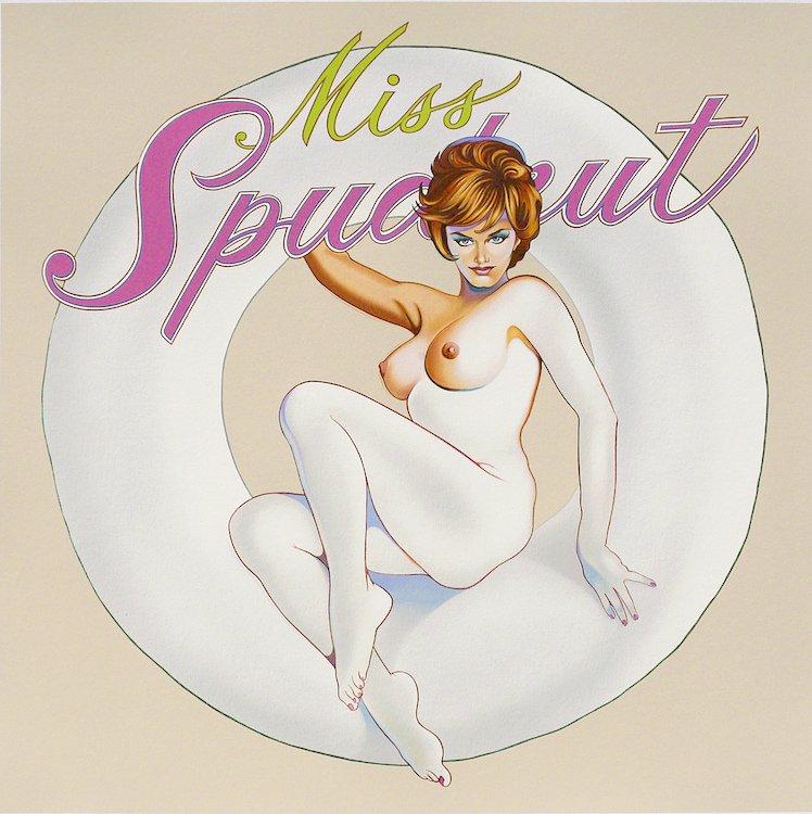 Mel Ramos Miss Spudnut Serigraph Print