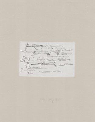 Joseph Beuys Zirkulationszeit: Urschlitten II Radierung