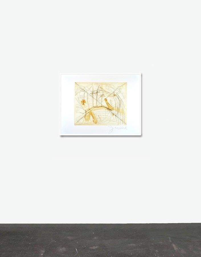 jonathan meese print etching zwei schw nze f r ein halleluja. Black Bedroom Furniture Sets. Home Design Ideas