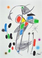 Joan Miro Print Lithograph Maravillas 18