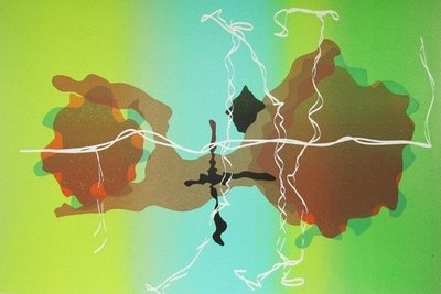 Jorge Pardo Untitled Grafik Siebdruck