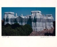 Christo and Jeanne-Claude Reichstag Südfassade Photograph