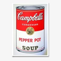Andy warhol campbells soup pepper pot sunday b morning 4009 small