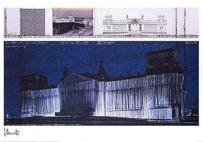 Christo Reichstag VII Print