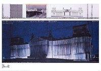 Christo Reichstag VII Druck