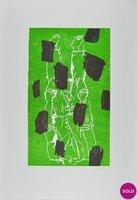 Georg Baselitz Torso II Holzschnitt Grafik