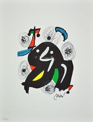 Joan Miro La Melodie Acide Lithograph Print
