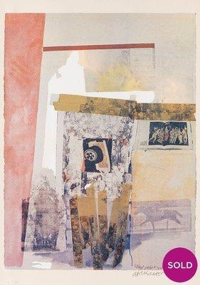 Robert Rauschenberg Watermark Print
