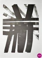 Hans Hartung Lithographie Grafik L-19-1974