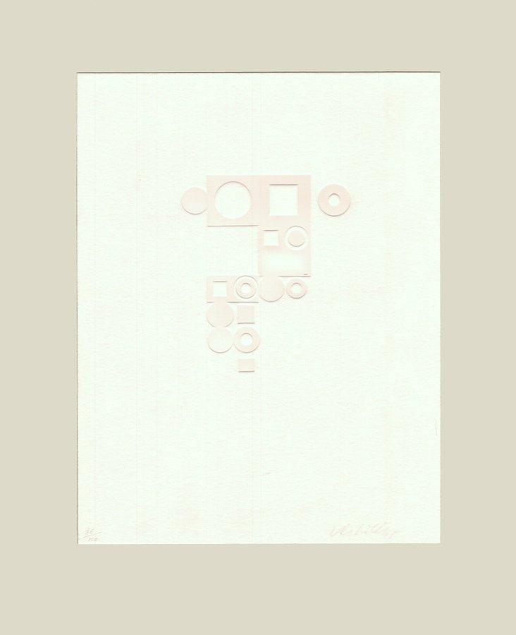Victor Vasarely Radierung Euklides