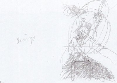 Joseph Beuys Print Granolithograph Leonardo Codice Madrid III