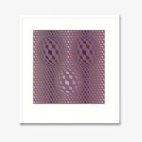 Victor vasarely konjunktion 1945 small