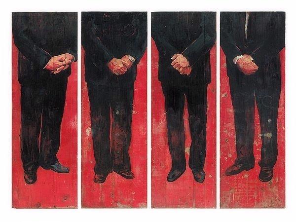 Christoph Pöggeler Grafik Set Roter Teppich