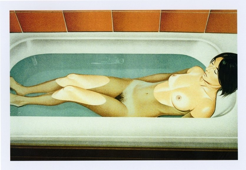 Mel Ramos Bonnards Bath Lithograph Print
