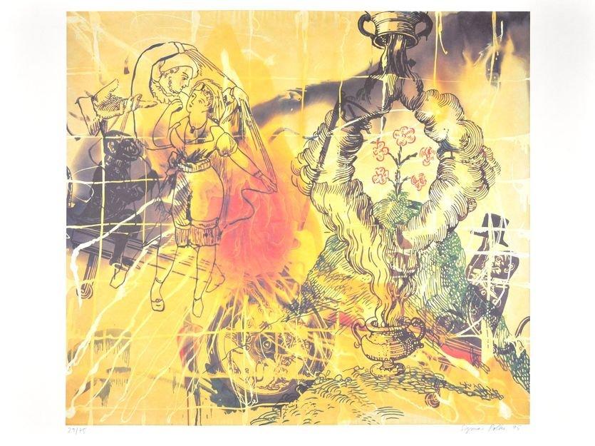 Sigmar Polke Affenschaukel Print Lithograph