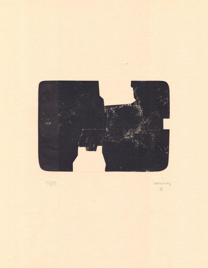 Eduardo Chillida Grafik St. Gallen van der Koelen 84014