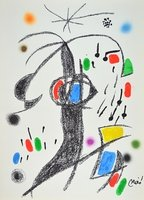 Joan Miro Grafik Maravillas 19 Lithographie