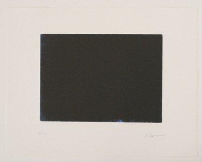 Arnulf Rainer Das Blau der Nacht Grafik Radierung