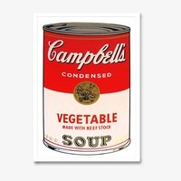 Andy warhol campbells soup vegetable sunday b morning 3116 small