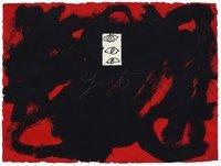 Antoni Tapies Radierung Gat